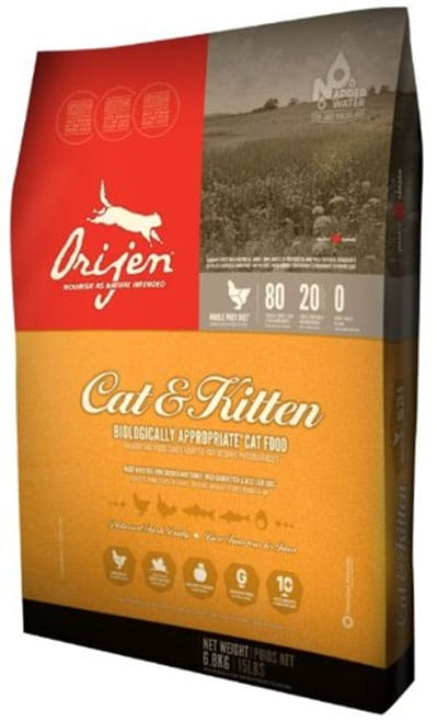 best cat-food-brands-Orijen